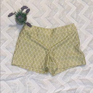 Ann Taylor LOFT textured shorts